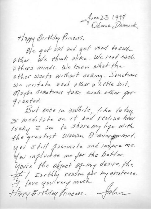 Infamous letter from Johnny Cash to his wife June on her 65th birthday, heralded as one of the greatest love letters of our time.